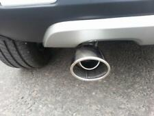 OVAL Chrome Exhaust Tailpipe 40-52mm S/Steel fits FIAT 500L (CT1A)