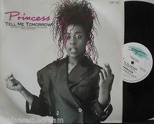 "PRINCESS ~ Tell Me Tomorrow ~ 12"" Single PS"