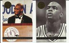 CHRIS WEBBER 1993 CLASSIC IMAGES 2 CARDS #132 & #2