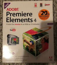 Adobe Premiere Elements 4 for Windows & Mac OS - a strong video-editor NEW!