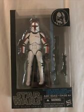 Hasbro Star Wars The Black Series Clone Trooper Captain Action Figure #13 6inch