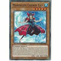 CHIM-EN003 Marincess Crown Tail | 1st Edition | Common Card YuGiOh Chaos Impact