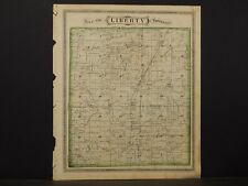 Indiana, Grant County Map, 1877, Township of Liberty, K2#93