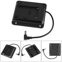 Portable Battery Camera Adapter Plate for Sony NP-F970 F550 F770 F970 F960 F750