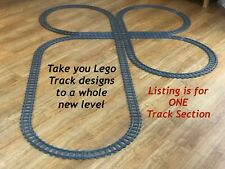 """Cloverleaf"" Lego Train Track Compatible with 60098, 7499, 7895, 60238, 7938,"