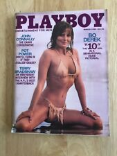 BO DEREK Perfect 10 On Cover BACK ISSUE VINTAGE PLAYBOY MAGAZINE March 1980