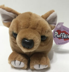 Puffkins Chalupa The Mexican Chihuahua Plush 2000 Swibco with all Tags