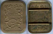 Plaque de métier - Garde forestier forêts plaque baudrier bronze fondu