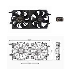 Dual Radiator & Condenser Fan Assembly Fits 1997 - 1999 Oldsmobile Cutlass 3.1L