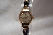 (28) DONNA VINTAGE 9 CT solid gold Rolex Tudor Swiss Orologio da polso