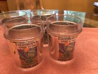 Vintage 90's Advertising Cup For Salem Fresh Wrap Cigarettes 4 Pack