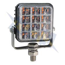 Durite 0-442-00 LED R65 Amber Warning Light Flashing Strobe Warning Lamp 12/24v