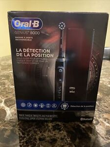 Oral-B Genius 8000 Rechargeable Electric Toothbrush - Black (LZ31770911)