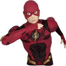 DC Comics: CW The Flash Figural PVC Bank Coin Money Bust Piggy Bank