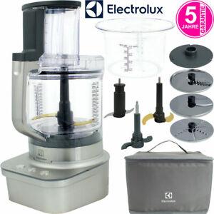 Electrolux 1,6 PS Aluminium Küchenmaschine Food Processor Mixer Zerkleinerer NEU