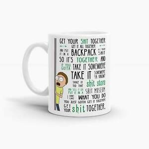 Rick and Morty - Get Your Sh*t Together Coffee Mug; Pop Culture Mugs