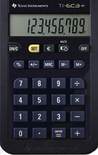 2x Texas Instruments TI-EC 3+ mini-escolar calculadora rápida