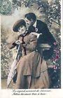 CPA Fantaisie - Couple - 1907