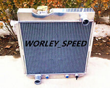 Aluminum Radiator For Ford Mustang 1964-1966 w/V8 Conversion A/T 3Core