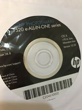 Hp 7520 E All In One Series Cd CZ045-10002