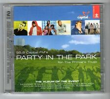 (GZ519) Various Artists, 95.8 Capital FM's Party In The Park - 2001 Double CD