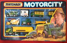1987 Matchbox Motorcity Farm Set NoMC-7 MIB