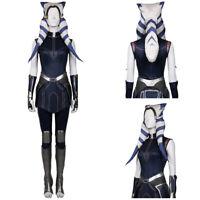 Star Wars: The Clone Wars Season 7-Ahsoka Tano Cosplay Costume Outfit Halloween