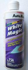 WHITE MAGIC by Auto Magic, Pre-softened cleaner & polish combination, 16 oz