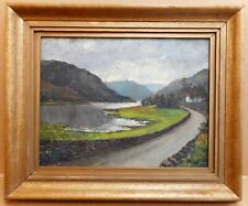 ULLSWATER CUMBRIA SUPERB QUALITY ANTIQUE MOUNTED CHROMO 1889 VERY RARE 8 X 6