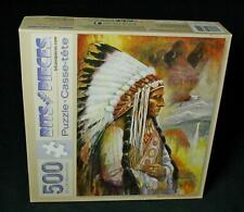 Bits And Pieces Spirit Of The Sioux Nation 500-Pc Jigsaw Puzzle