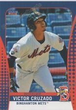 2016 Binghamton Mets Victor Cruzado RC Rookie NY Minor League