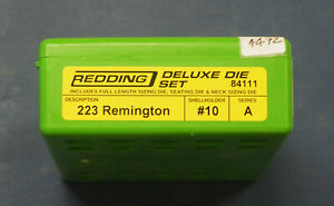 Redding .223 Rem Deluxe 3-Die Set-(84111) NEW