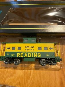 Weaver Trains Reading 3 rail caboose works with Lionel- Atlas O , K Line, MTH