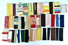 Vintage Lot Sewing Notions 40 Used Rick Rack Lace Binding Piping Other