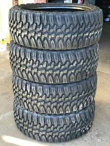 4 NEW 35 12.50 24 LT Haida Mud Champ MT M/T Tires Late 2020 DOT 10-Ply 35X12.50