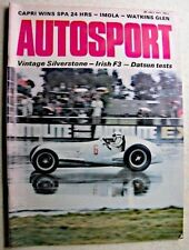 July Autosport Weekly Magazines in English