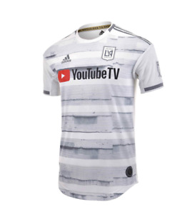 ADIDAS LOS ANGELES FC ( LAFC ) AWAY AUTHENTIC JERSEY GE5945