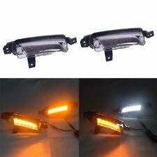 For Suzuki Vitara 2015-2018 DRL Daytime Running Fog Light W/ Turn Signal Lamp