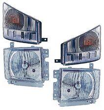 2009 2010 2011 2012 ISUZU NPR HD NQR Truck  New Headlight/Signal Light PAIR