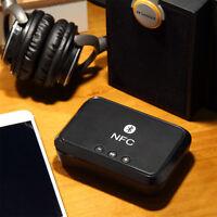 NFC home Desktop Bluetooth Wireless Stereo Audio Music Speaker Receiver Adapter