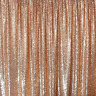 Rose Gold Glitz Sequin Fabric Photography Curtain Backdrop Photo Booth Made USA