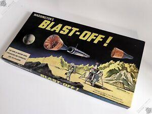 WADDINGTON'S BLAST-OFF! GAMES SCI-FI SPACE ROCKET BOARD GAME VINTAGE COMPLETE