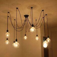 Vintage Ceiling Light Spider Lamp Holder Pendant Lighting Edison DIY 10 Heads