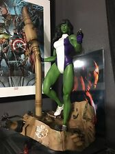 XM STUDIOS She-hulk  1/4 SCALE STATUE SOLD OUT MARVEL Nt Sideshow