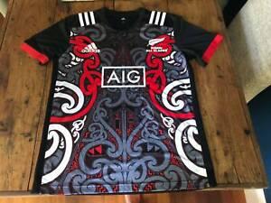 Adidas All Blacks Maori t-shirt - brand new - L