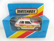 Matchbox Superfast Renault Diecast Cars