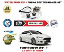 FOR FORD MONDEO 2.0 TDCI + BI TURBO 2014-> WATER PUMP SET + TIMING CAM BELT KIT