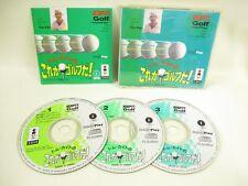TOM KITE KOREGA GOLF DA Item ref/C 3DO Real Panasonic Japan Video Game 3d