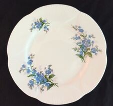 "Royal Albert FORGET-ME-NOT ca.1960 Vintage 8-1/4"" Dessert/Salad Plate Blue Trim"