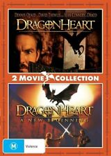 Dragonheart / Dragonheart 2 (DVD, 2018)